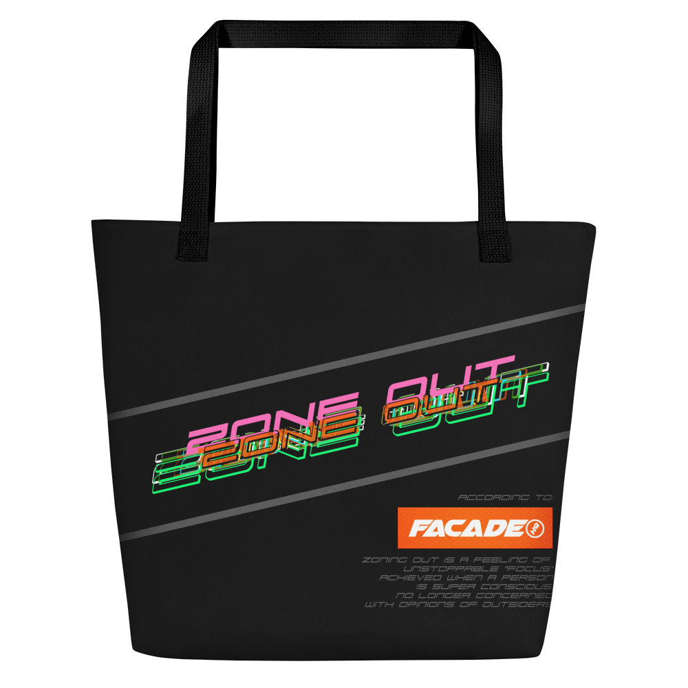 Zone Out Structured Big Bag - $60