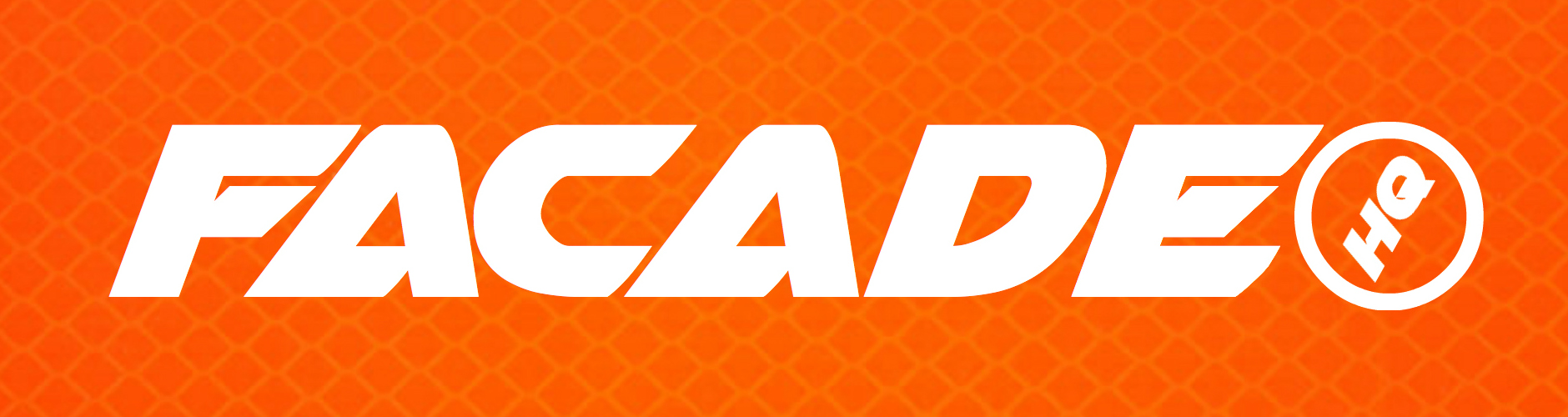 Orange Zone Sticker - (free with any purchase from Facade HQ Merch Collection or $5)