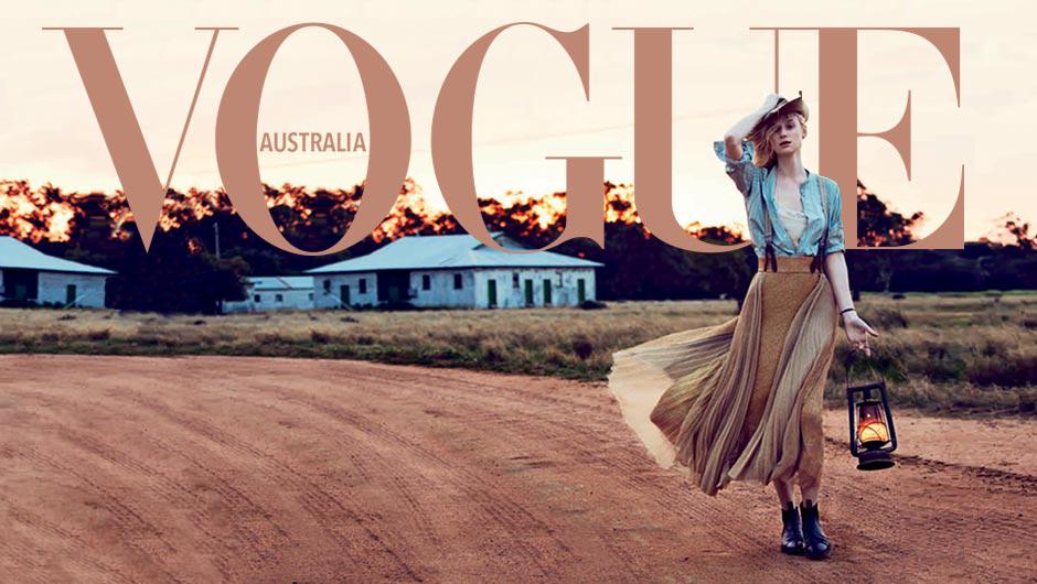 Vogue.com.au Launch Cover