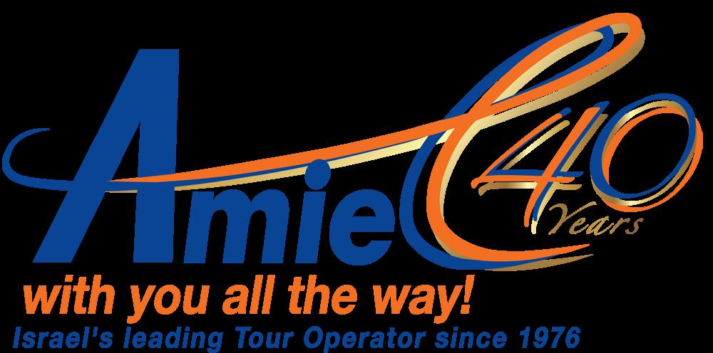 Amiel 40 years logo.png