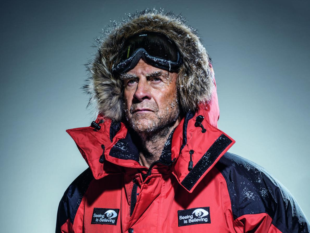 """Sir Ranulph Fiennes - """"The 100 Peaks Challenge will be an exceptional endurance event testing both the physical and mental fitness and resilience of those taking part. When I first heard about this challenge, I was keen to support it. Please join me in supporting this outstanding Charity Challenge and those participating in it""""."""
