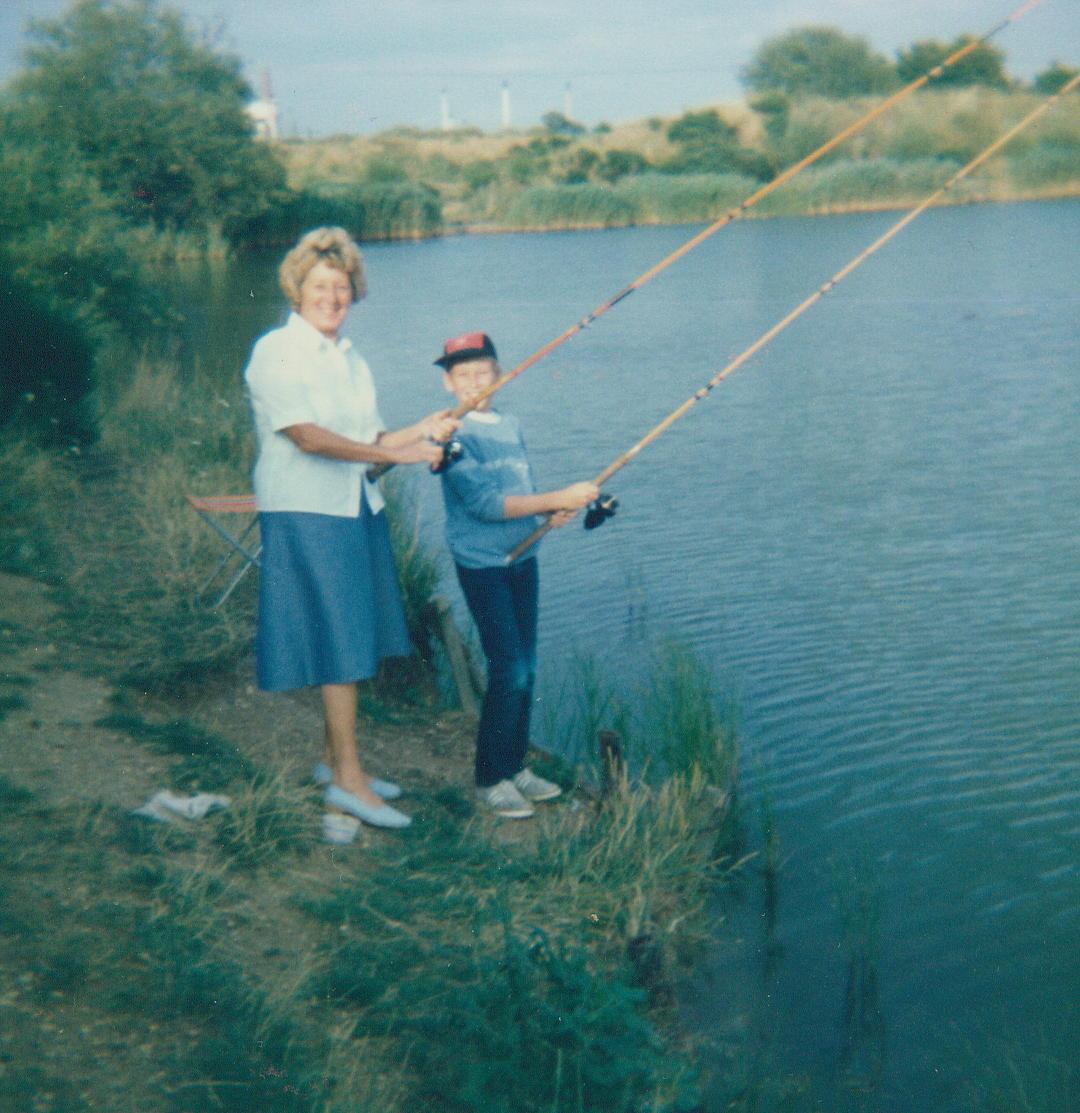 Me & Nanna @ Dunton Lake.JPG