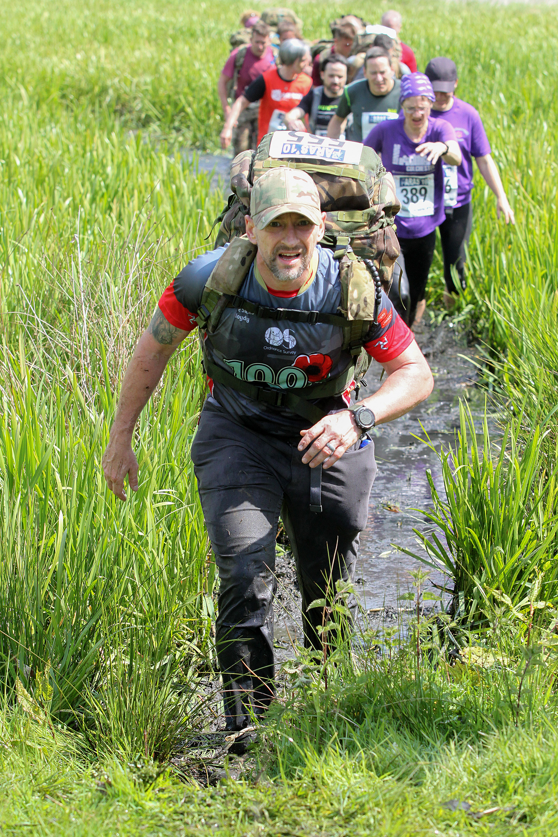 Paras'10 - Colchester 18.05.19 after the Spring Marathons