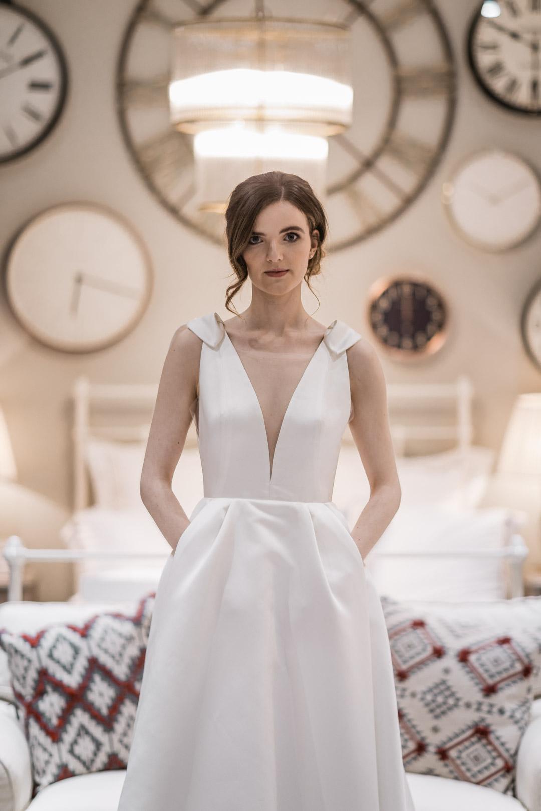 Dress by  Luxe Bride  &  Miss Bush Bridalwear