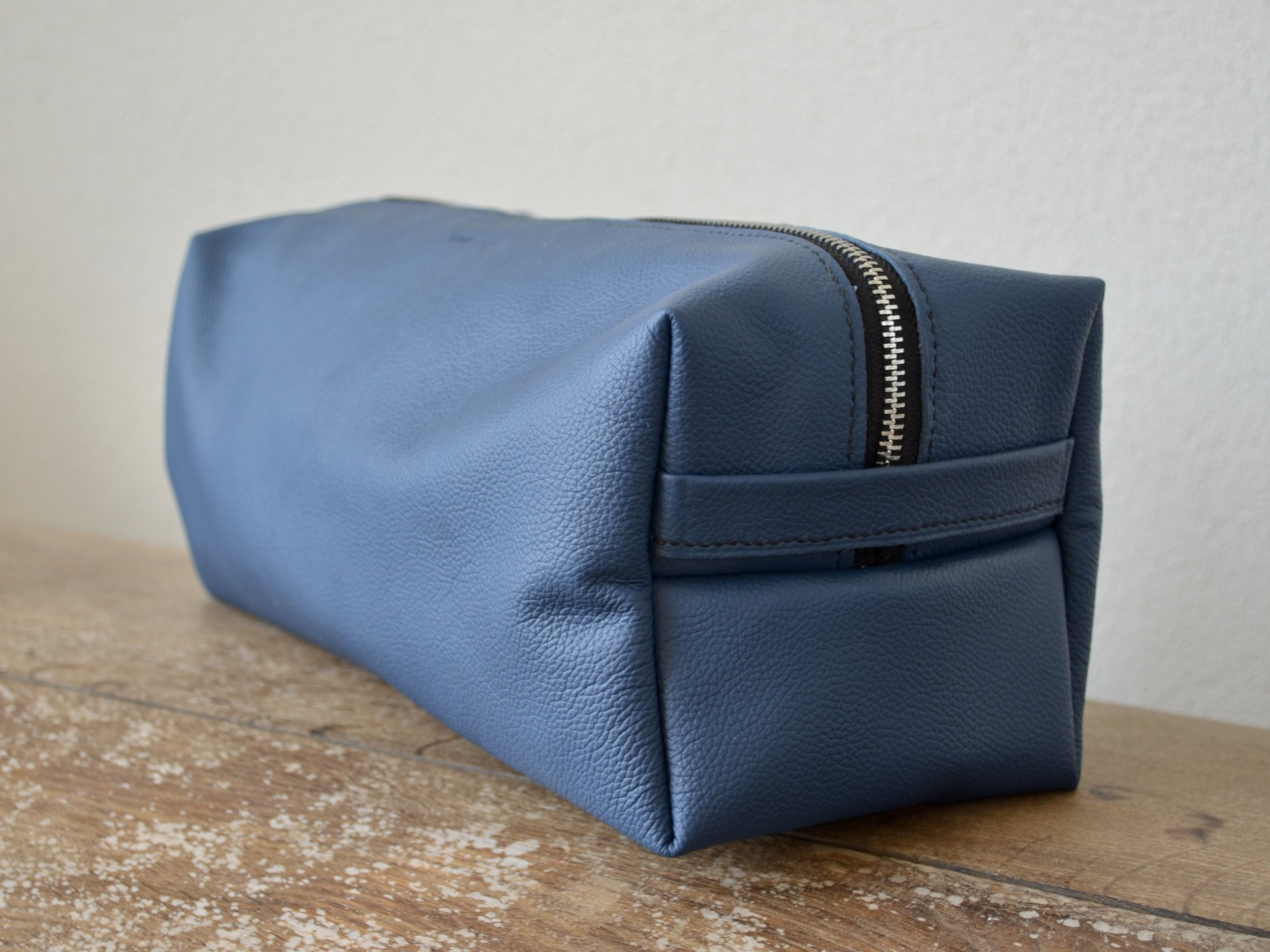 Mens Dopp Kit with Oil Cloth Lining