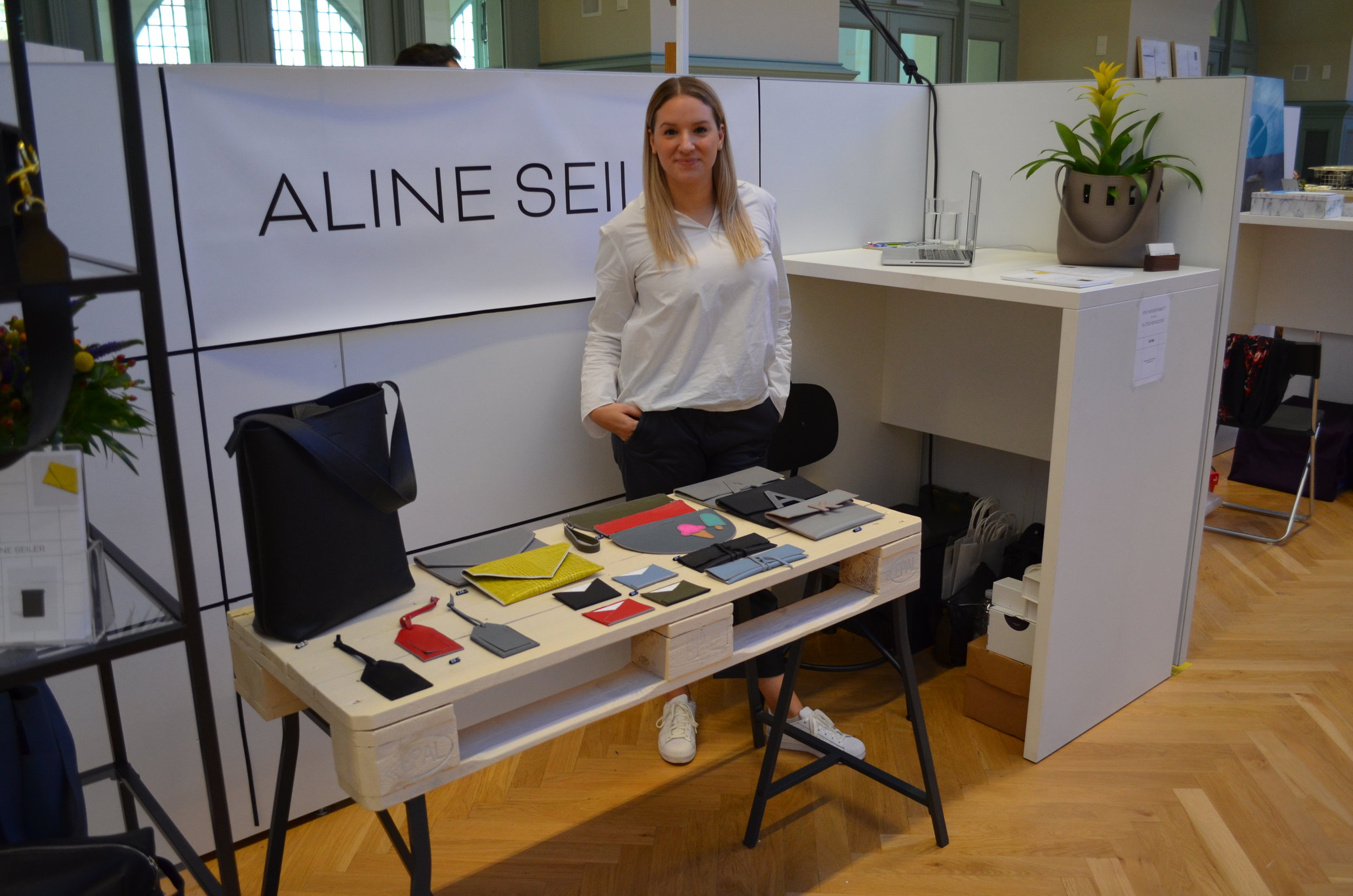 Aline Seiler Display at Designer's Open 2018 Leipzig
