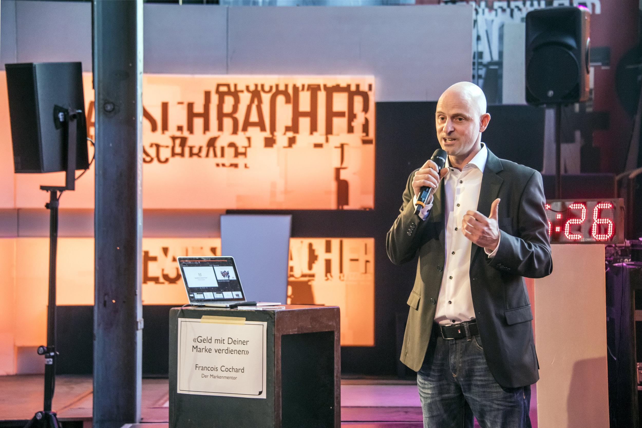 Francois Cochard an der M4Music Conference