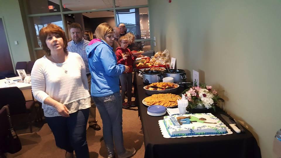 Amy N.Joanna G.& Pst Al S. at DMN launch lunch.