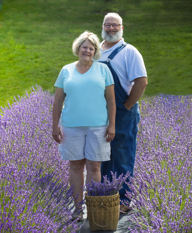 Ed and Susan Hancock, Proprietors, Lavender Vista