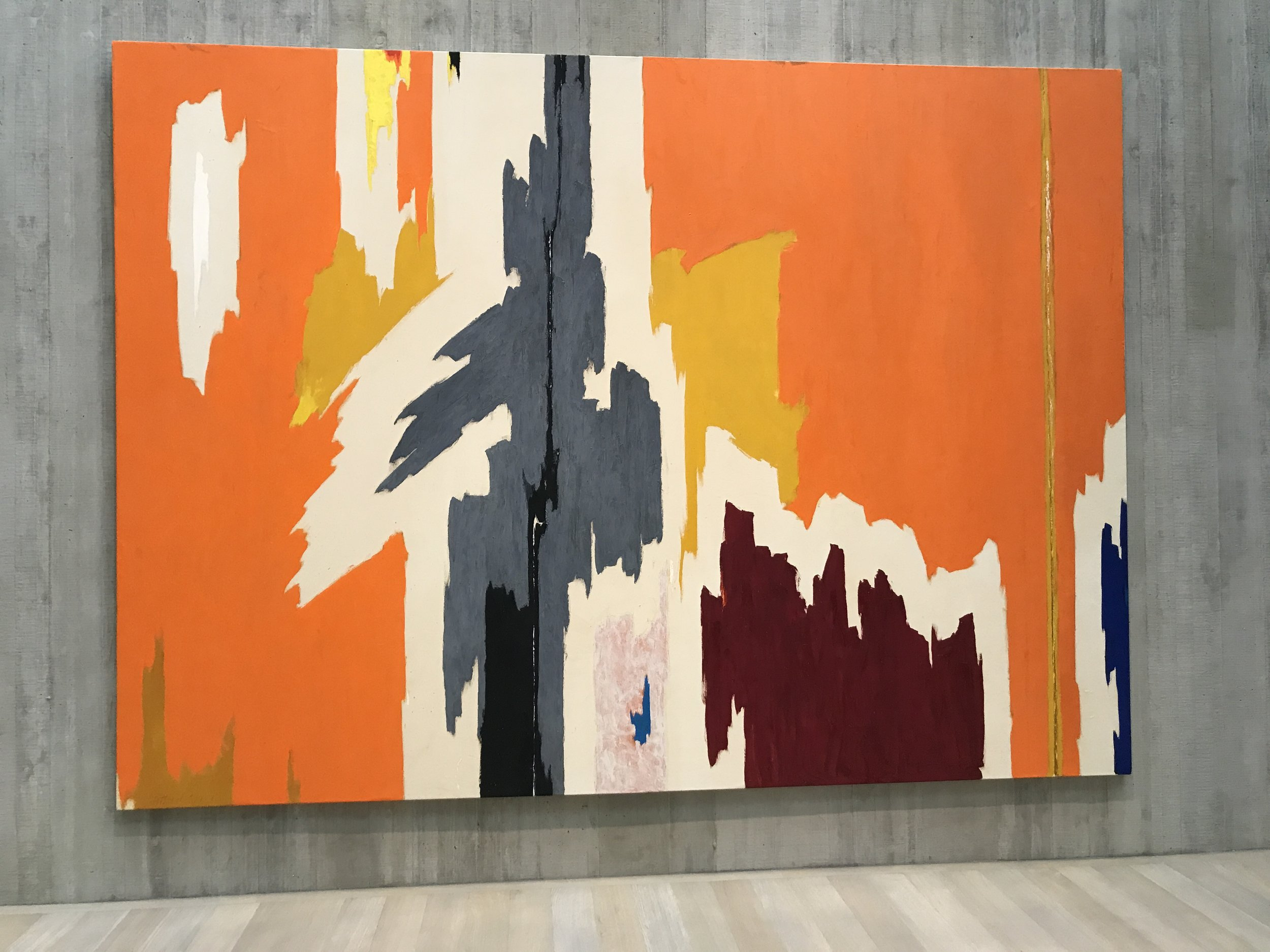Seeing Clyfford Still's work at the PMA years ago was the first time I recognized an existential crisis in a painting (NOT in painting). Still's dedicated museum also had a great exhibition called,