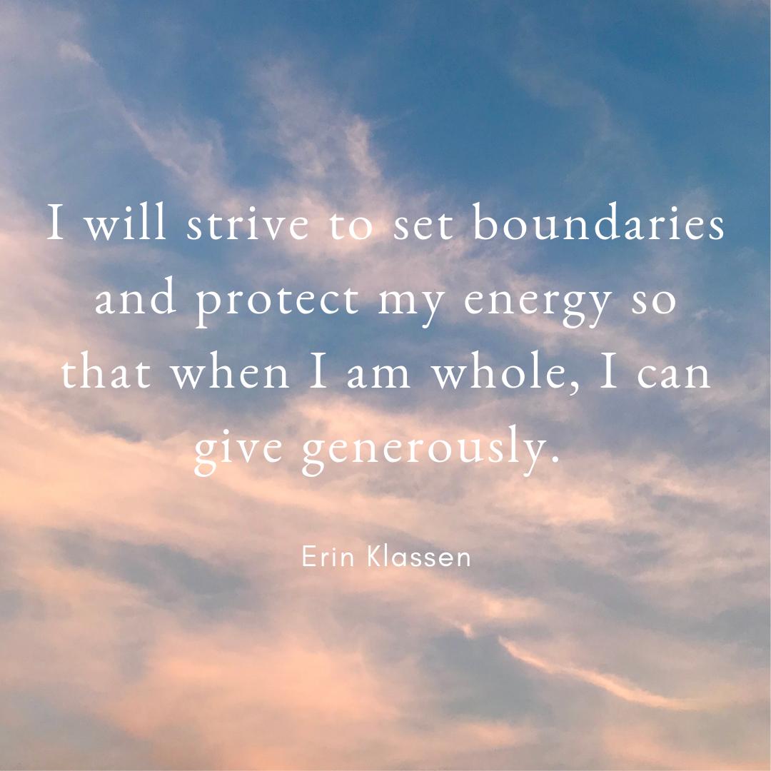 Navigating Healthy Boundaries