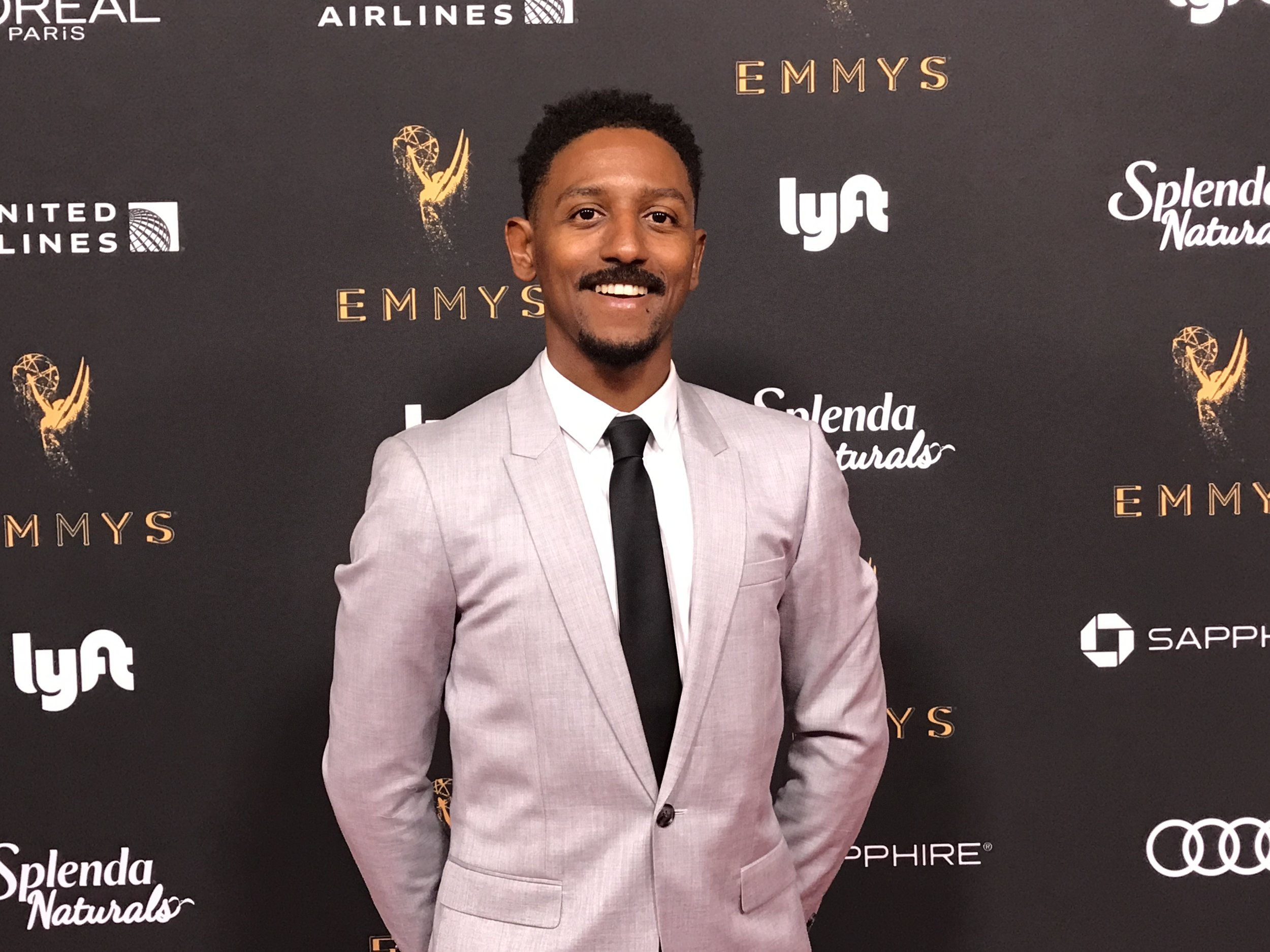 At the Emmys Performers Reception in 2017.