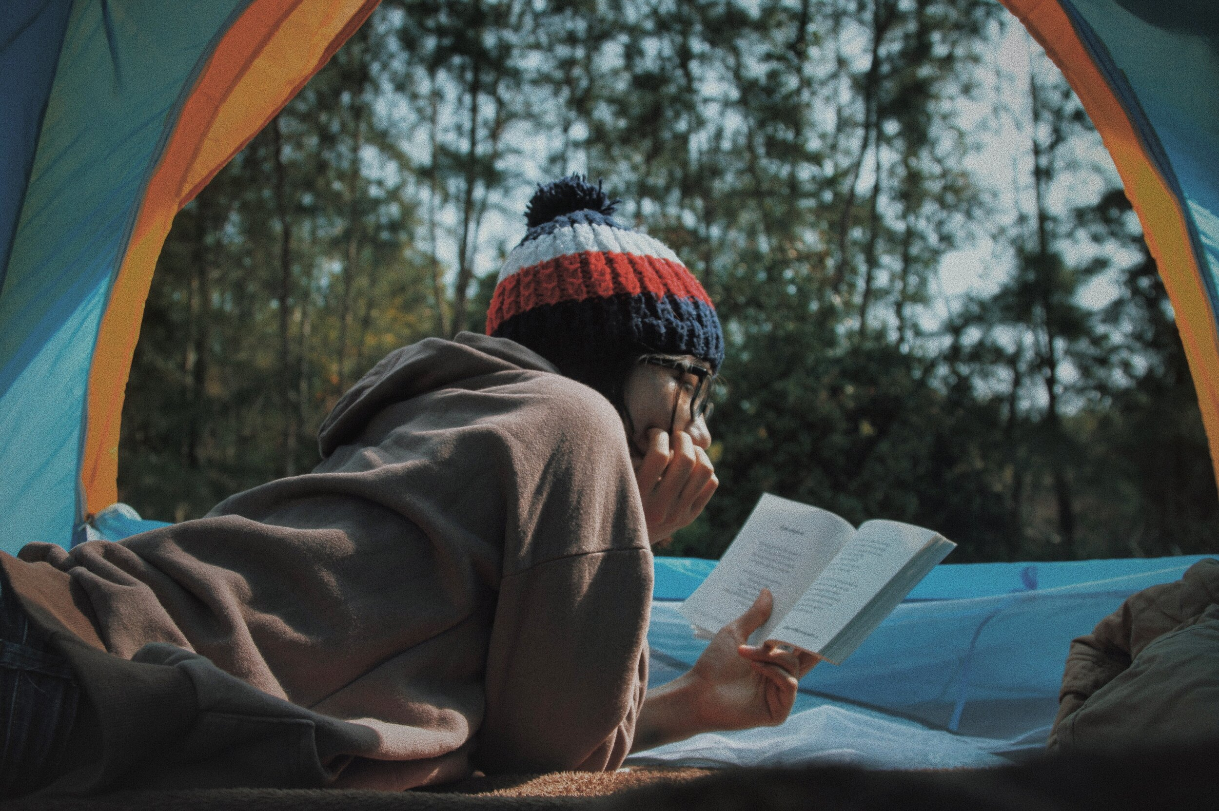 Interests are things you find motivational, inspirational, or make you feel good like reading or camping