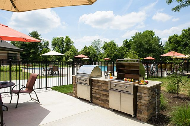 Who's grillin & chillin this weekend? 📷 at Chaddwell Apartments #ExtonPA #HankinApartments #Summertime