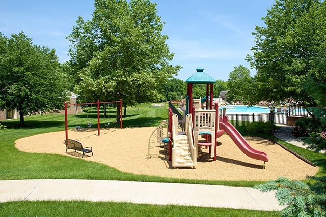 Get out & PLAY! Our playground at New Kent is perfect to burn off some energy. #WestChesterPA #HankinApartments