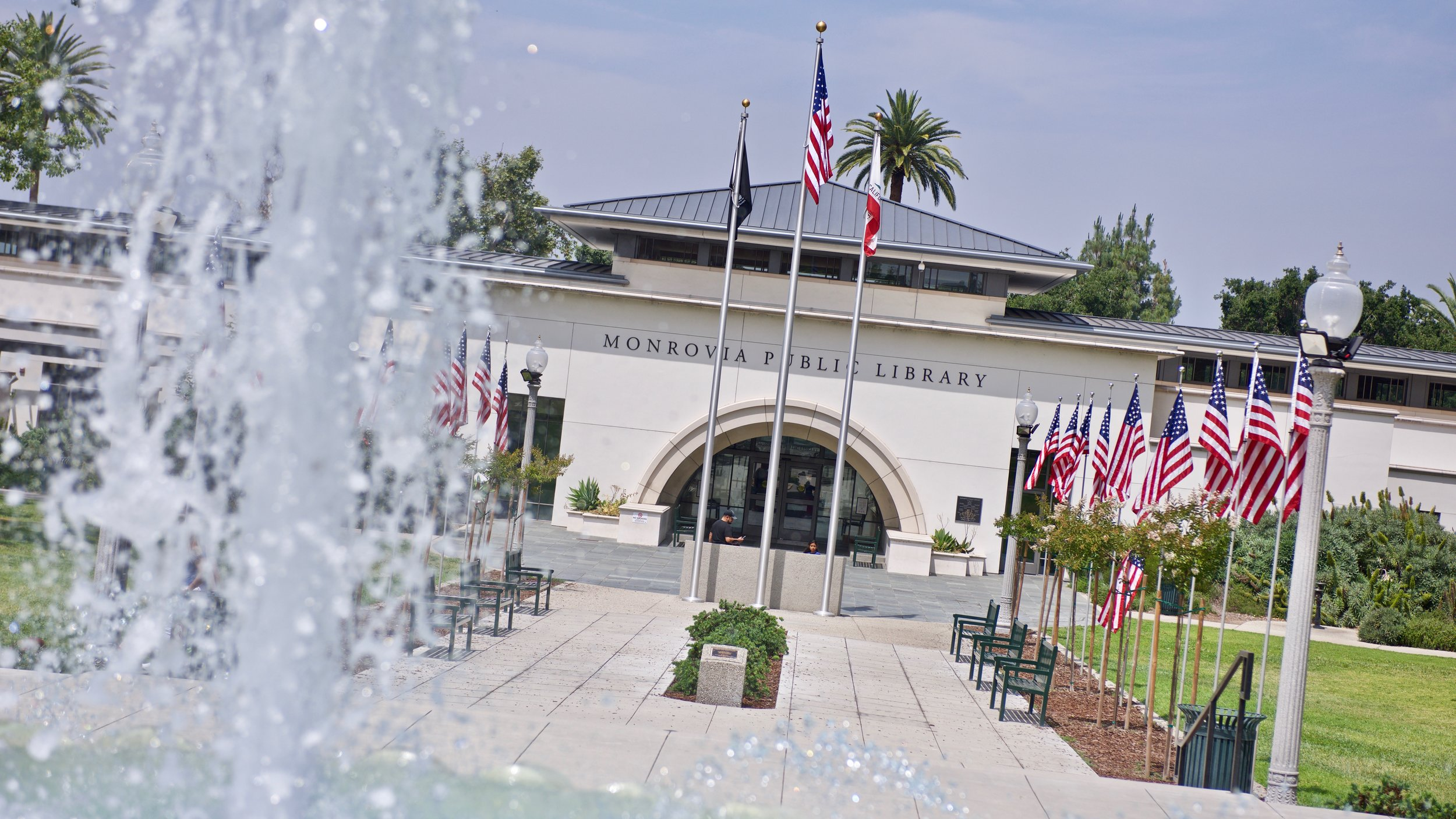 Monrovia Public Library - Dressed for Memorial Day