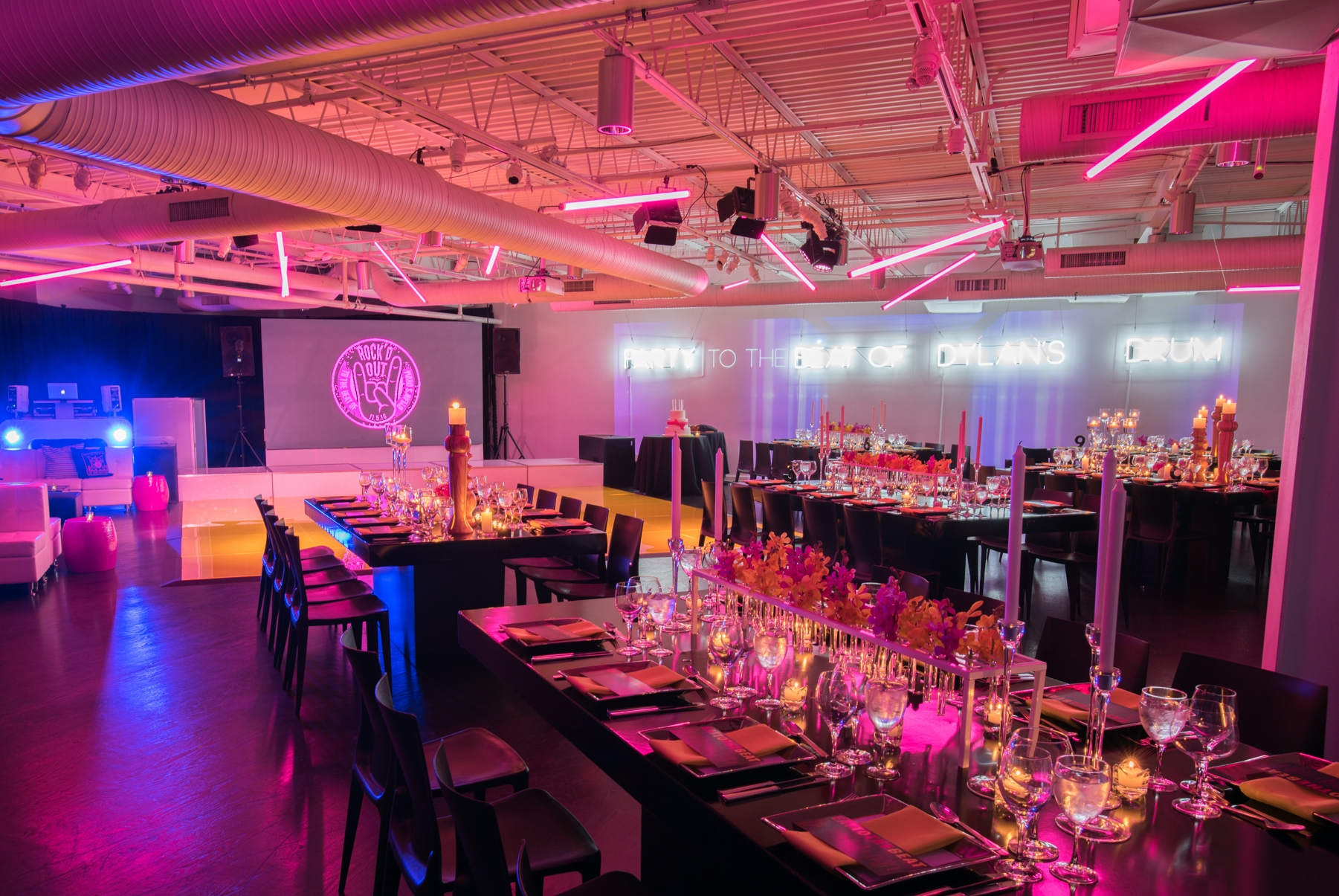 NEON NIGHTS - Venue: The Loading Dock, Stamford, CTPhotography: Tripp Street Studio