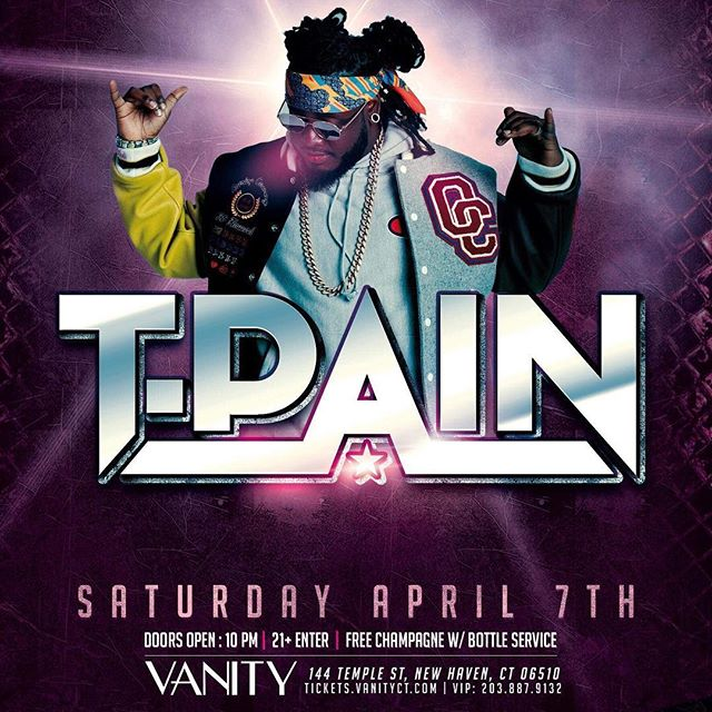 This Saturday, I'll be working with T-Pain on stage! You don't want to miss this . @tpain #wiscansin  #bartender #imsprung #stripper