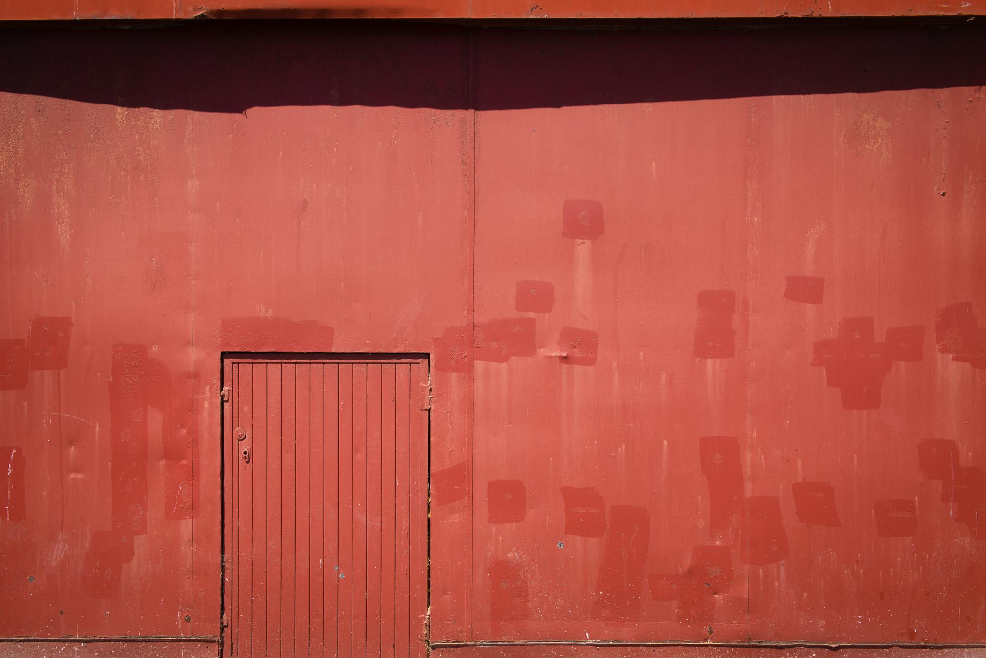 Pier 3 Warehouse Wall  - 2013 San Francisco, CA