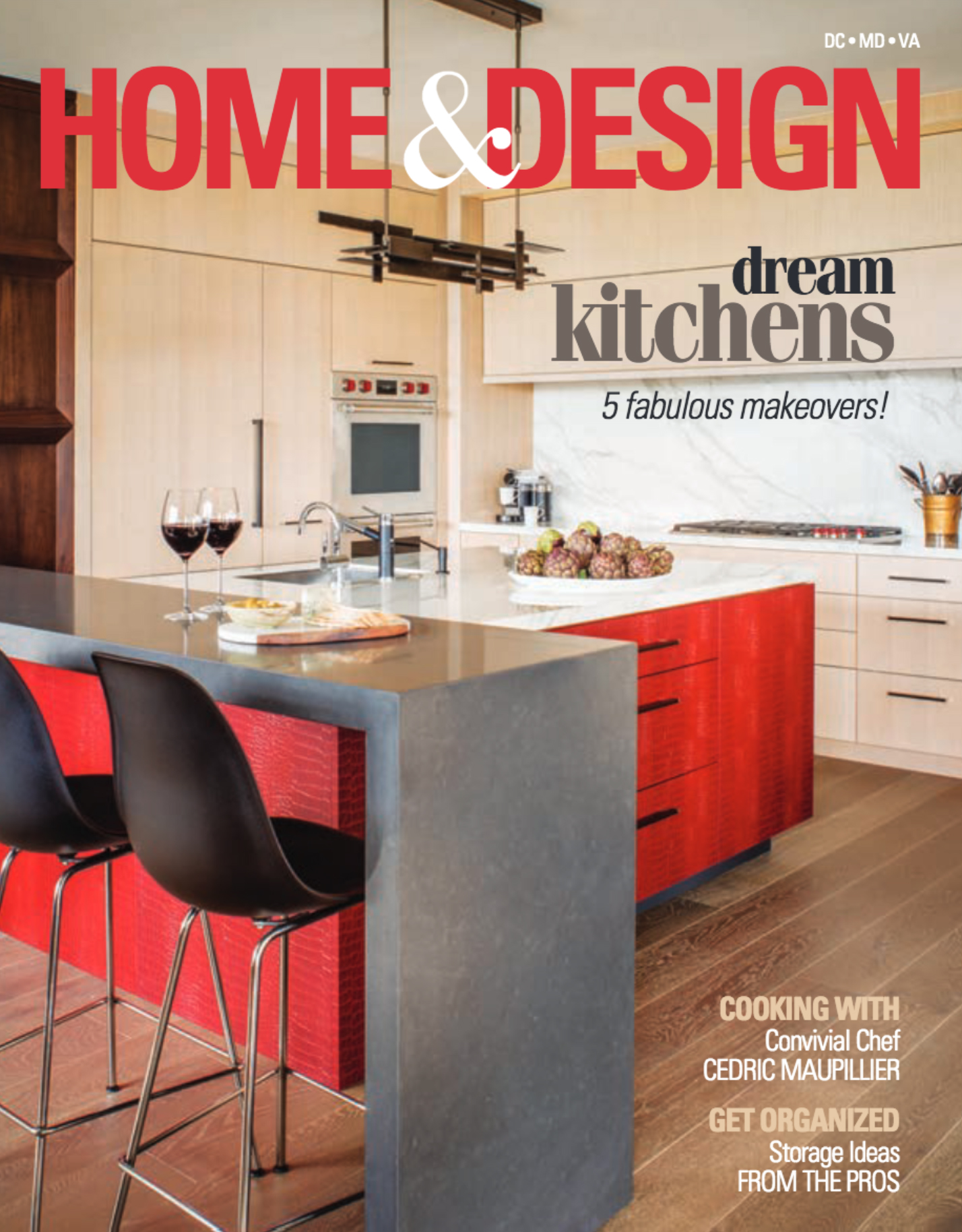 Home & Design Magazine  Winter 2018 Issue Jennifer Gilmer Kitchen & Bath