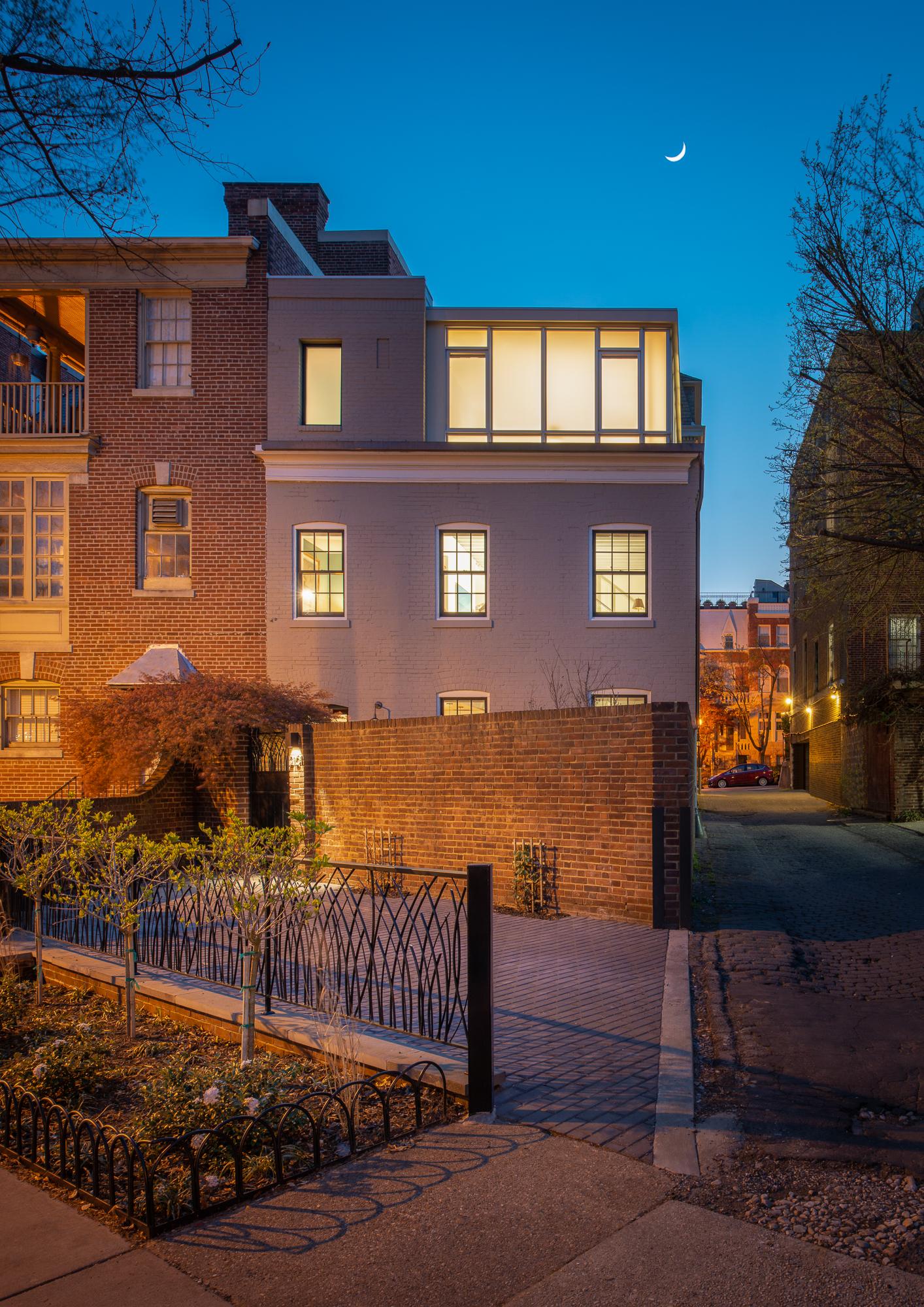 Carriage House  Gardner Architects Washington, DC