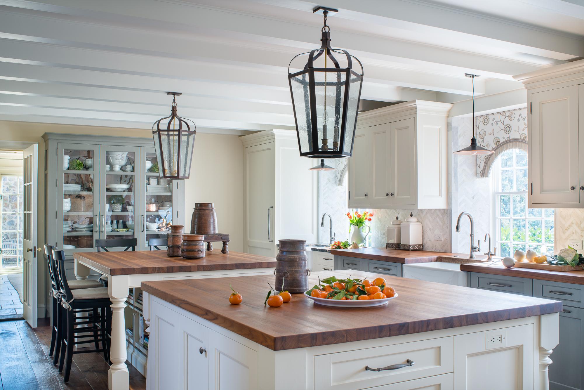 Farmhouse Kitchen  Jennifer Gilmer Kitchen & Bath McLean, VA