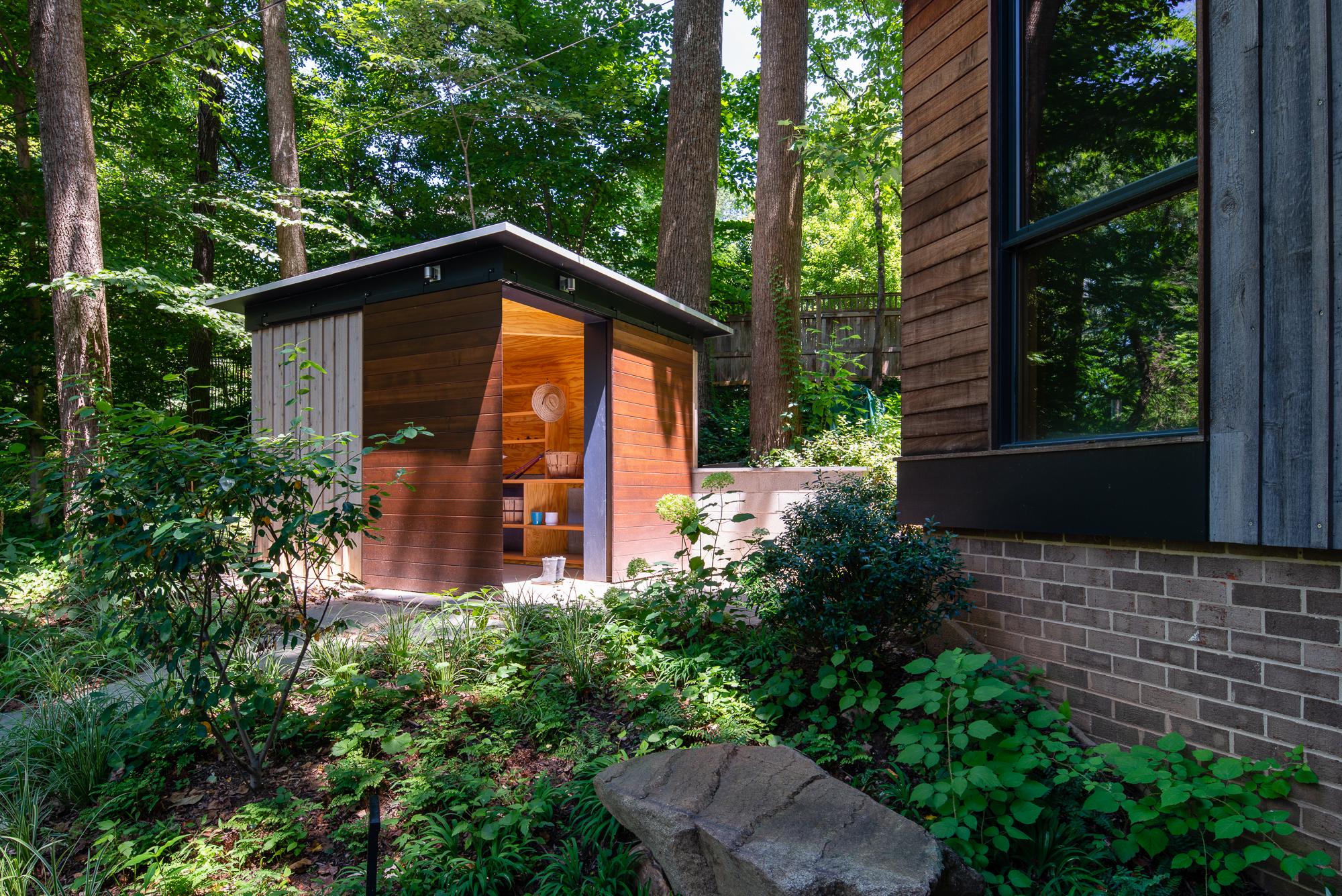 Modern Shed  Gardner Architects Bethesda, MD