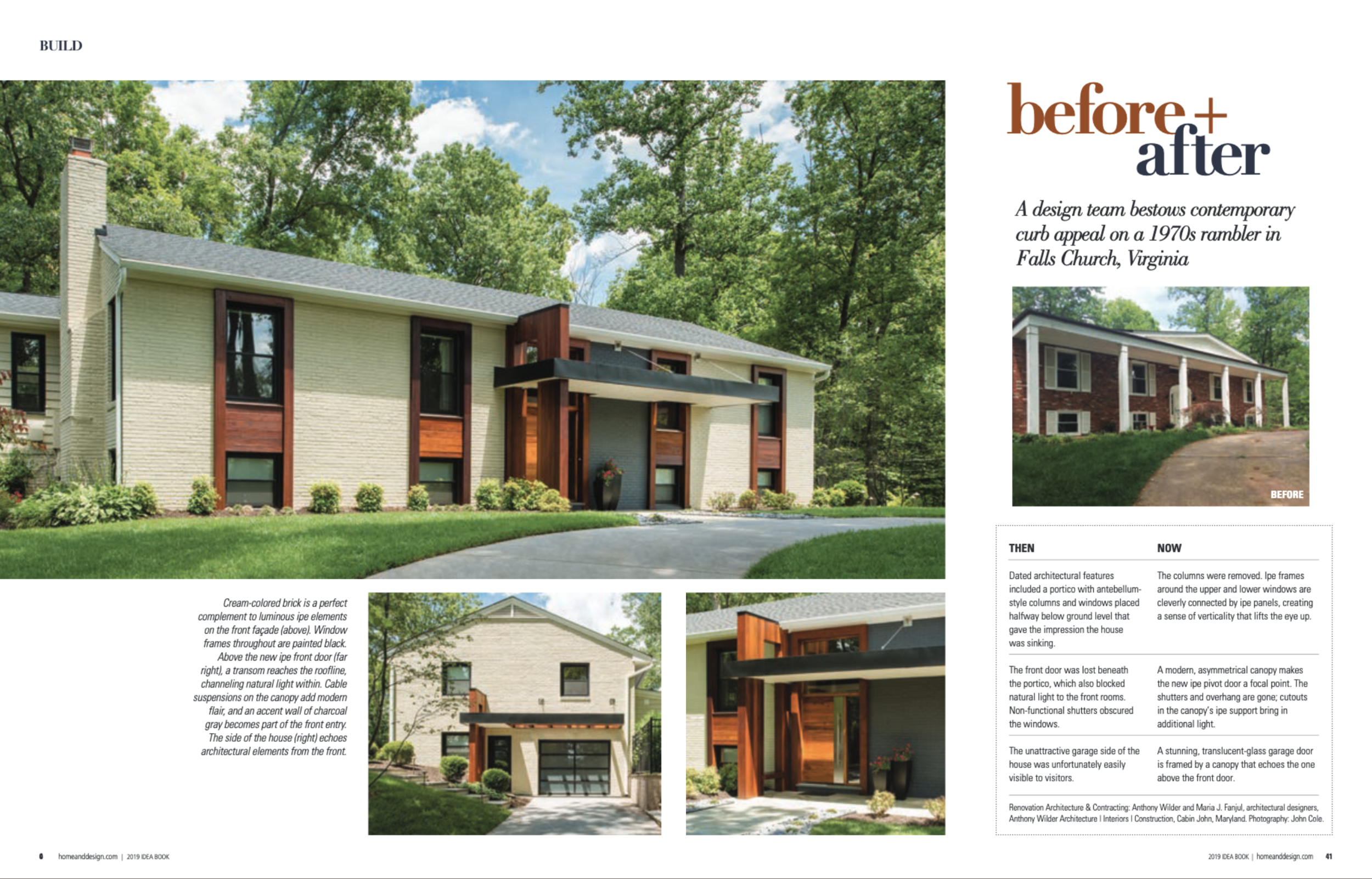 Home & Design Magazine  Ideabook 2019 Anthony Wilder Design Build