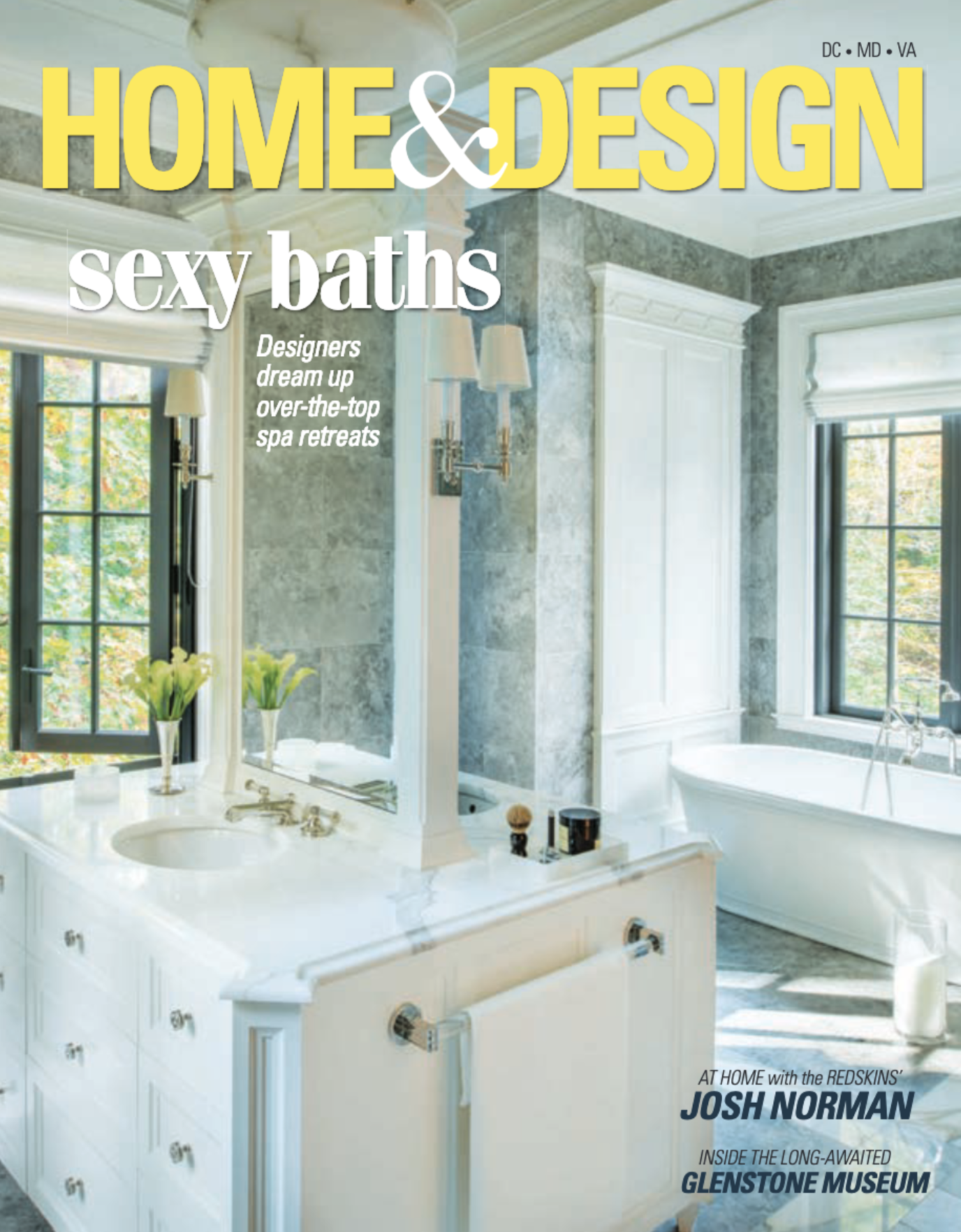 Home & Design Magazine  November/December 2018 Donald Lococo Architects