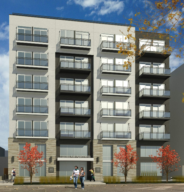 A 71 unit apartment project with 37 parking spaces in Uptown