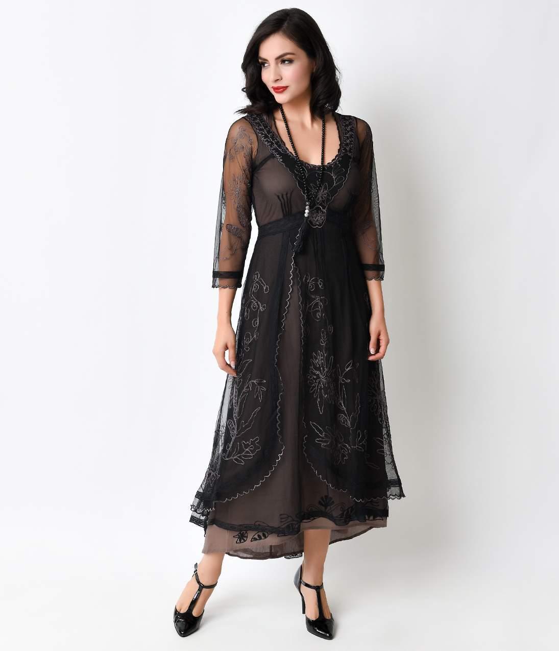 Nataya_1930s_Black_Tulle_Downton_Abbey_Tea_Party_Dress_4_006cb08b-3876-460d-b51d-c8d1fd966611.jpg