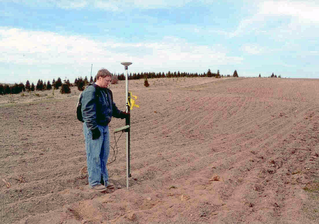 Setting Straight & Even Rows with GPS
