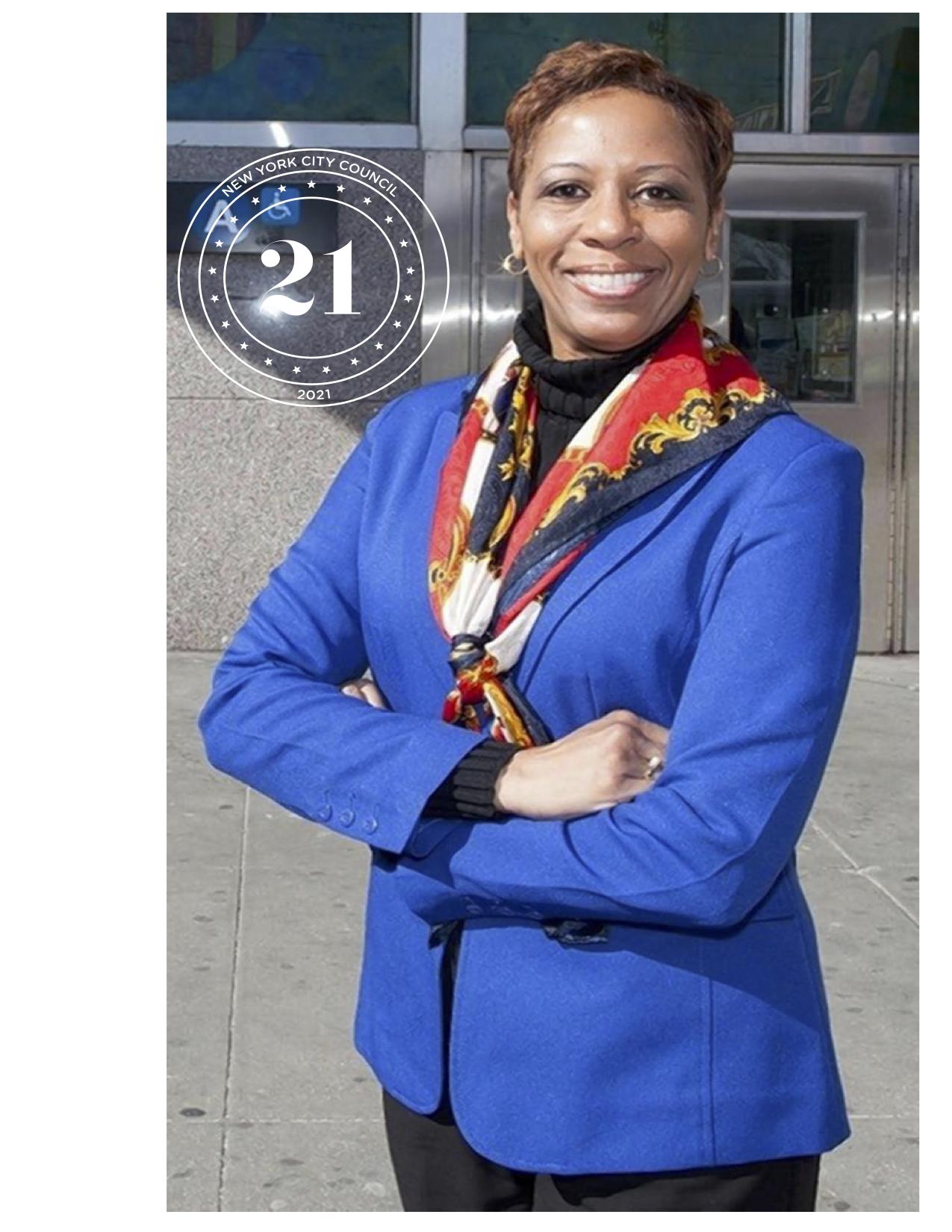 Adrienne Adams - Council District 28