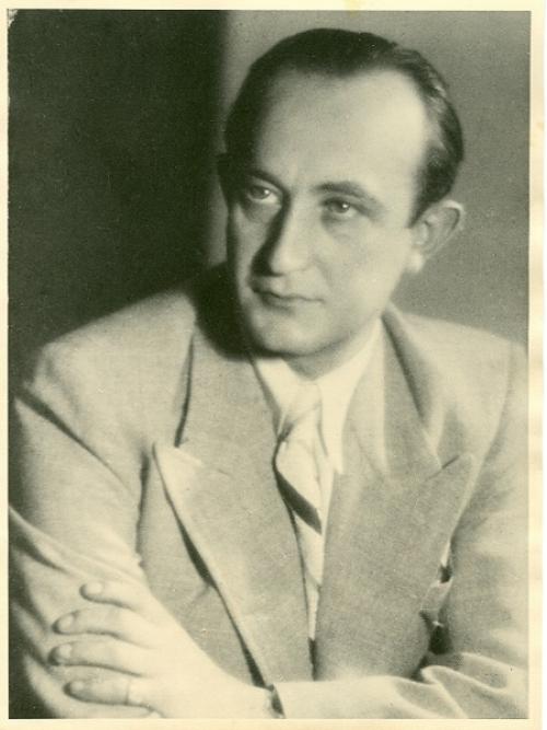George Mandel Mantello, Acting First Secretary for El Salvador in Geneva, 1942-45
