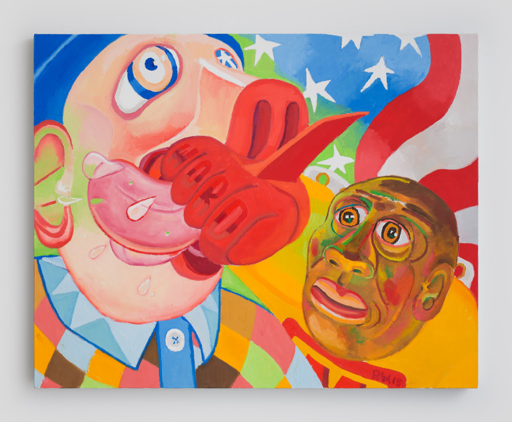 Word! , 2015, Oil on canvas, 24 x 30 inches
