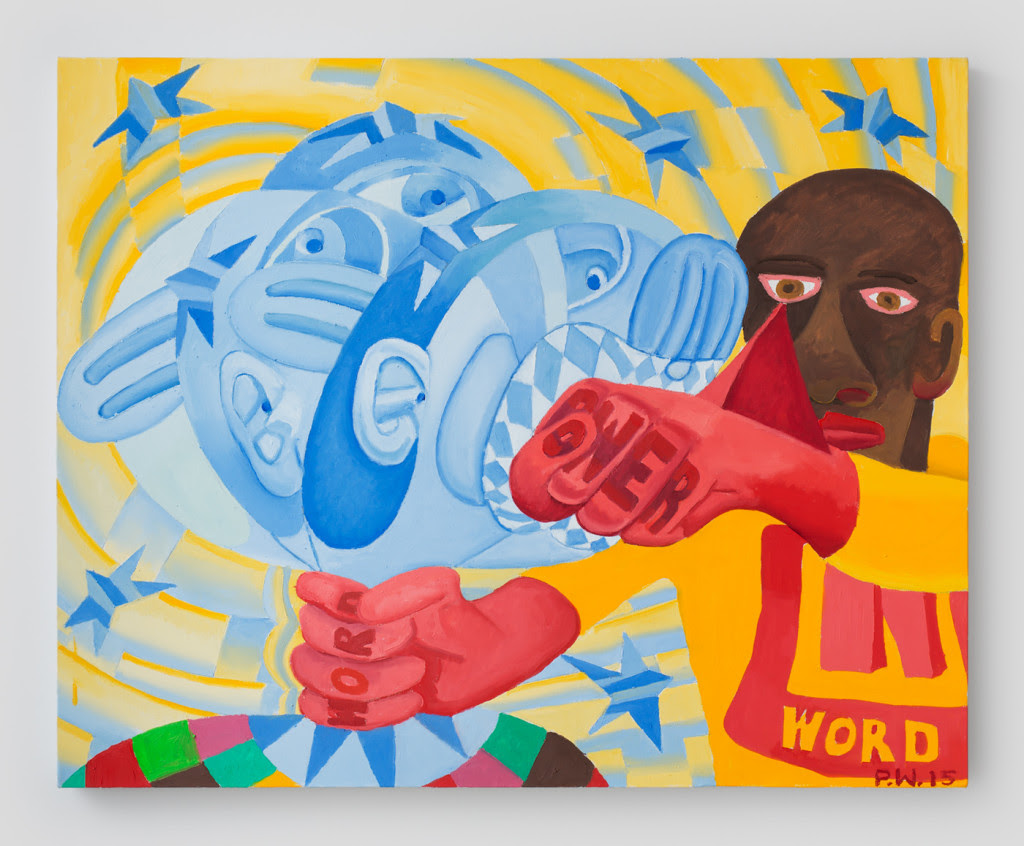 POW! , 2015, Oil on canvas, 24 x 30 inches
