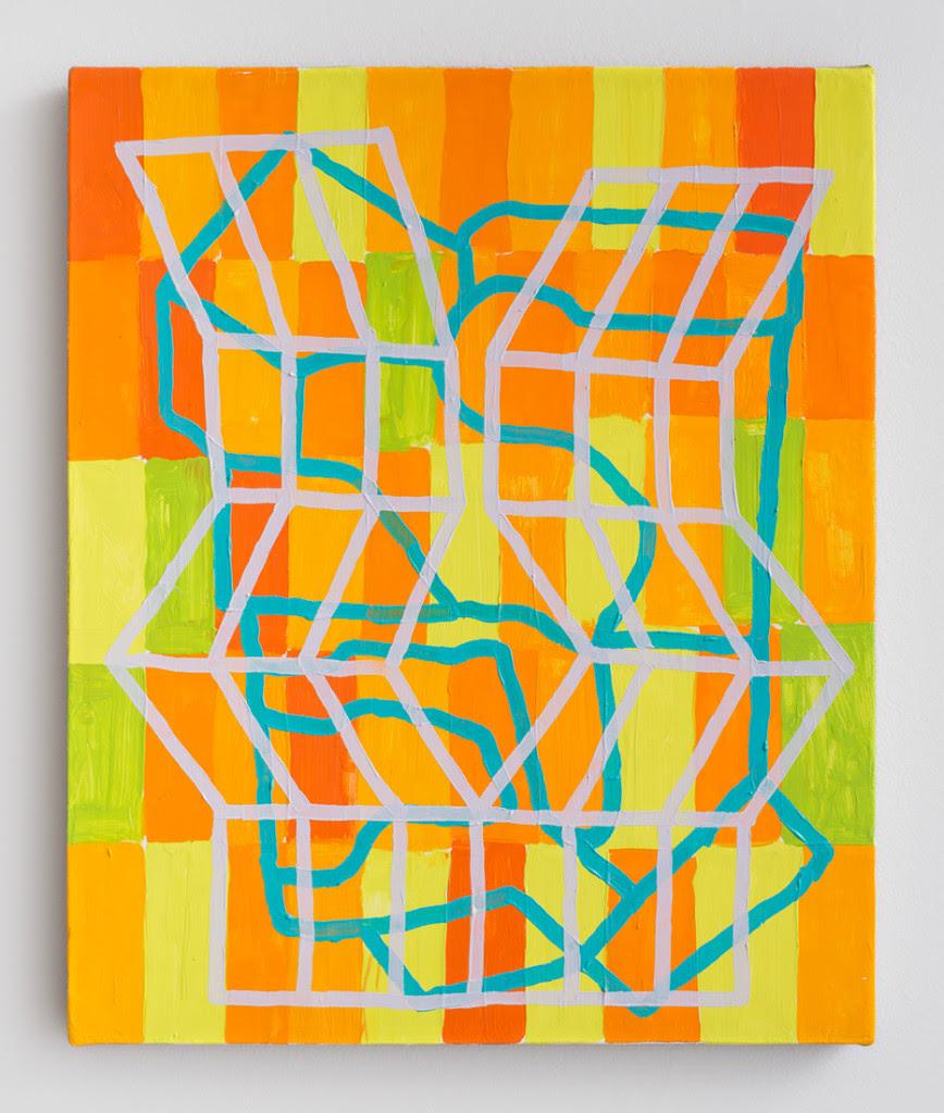 Jason Karolak.  Untitled (P-1428 ), 2014, Oil on linen, 17 x 14 inches