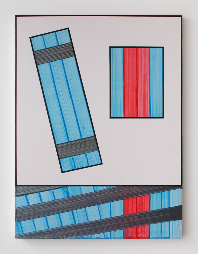 Gary Stephan. Hope Over Reason , 2014, Acrylic on canvas, 40 x 30 inches