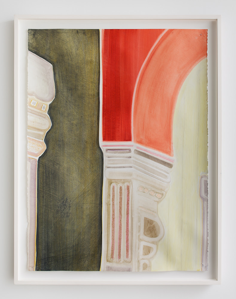 Have Ears , 2013, Oil and pastel on paper (framed), 24 x 32 inches