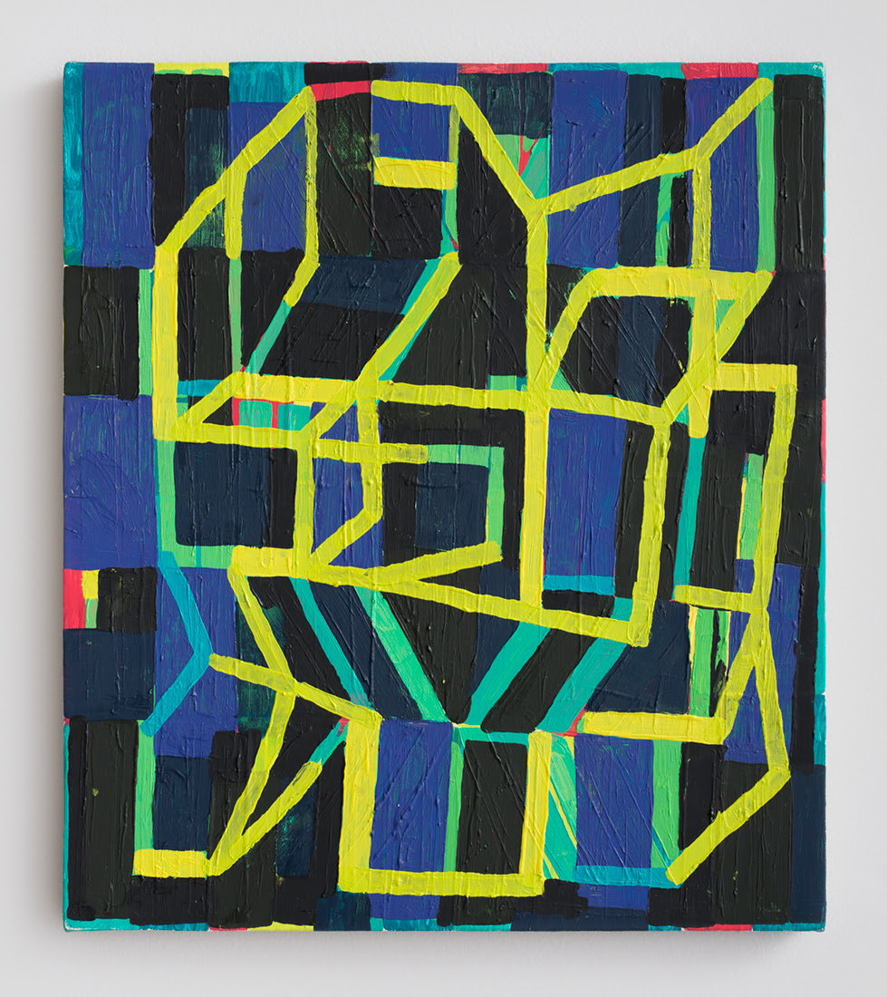 Jason Karolak. Untitled  (P-1404) , 2014, Oil on linen, 16 x 14 inches