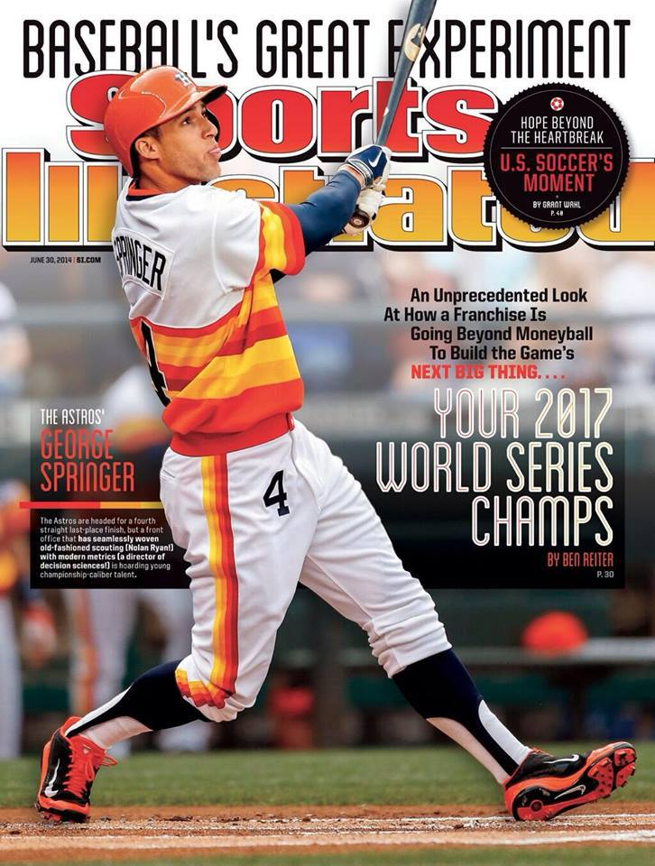 The Astros knew they would have to lose before they could win. But it wasn't something they had done (intentionally) before. Being clear on the process gave all that losing a purpose, and they never hid what they were trying to do (as evidenced by the 2014 Sports Illustrated cover story above.