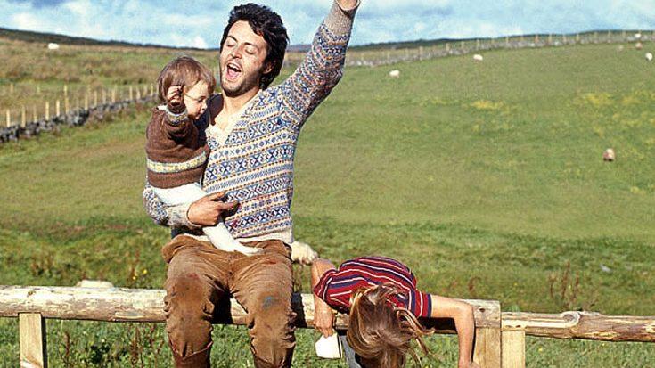McCartney. The ultimate Dad Rock dad.