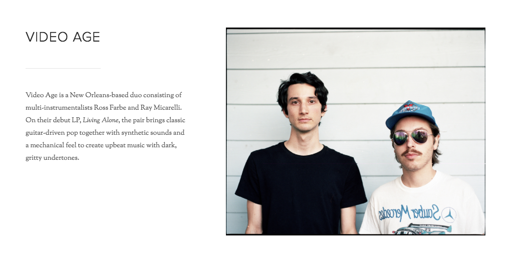 From Inflated Records' website.
