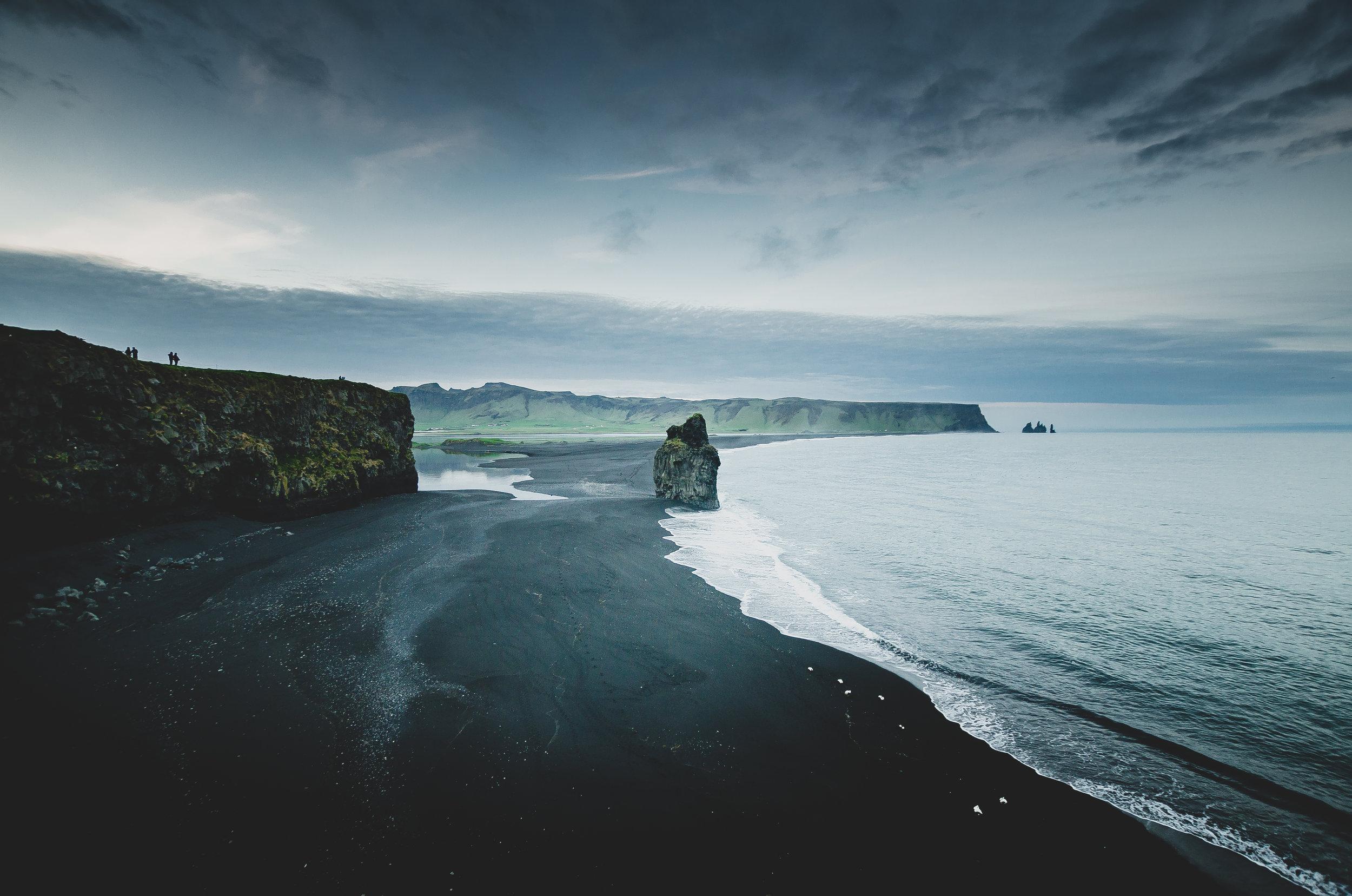 Kirkjufara Beach, Iceland