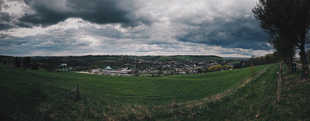 Panorama of Gulpen