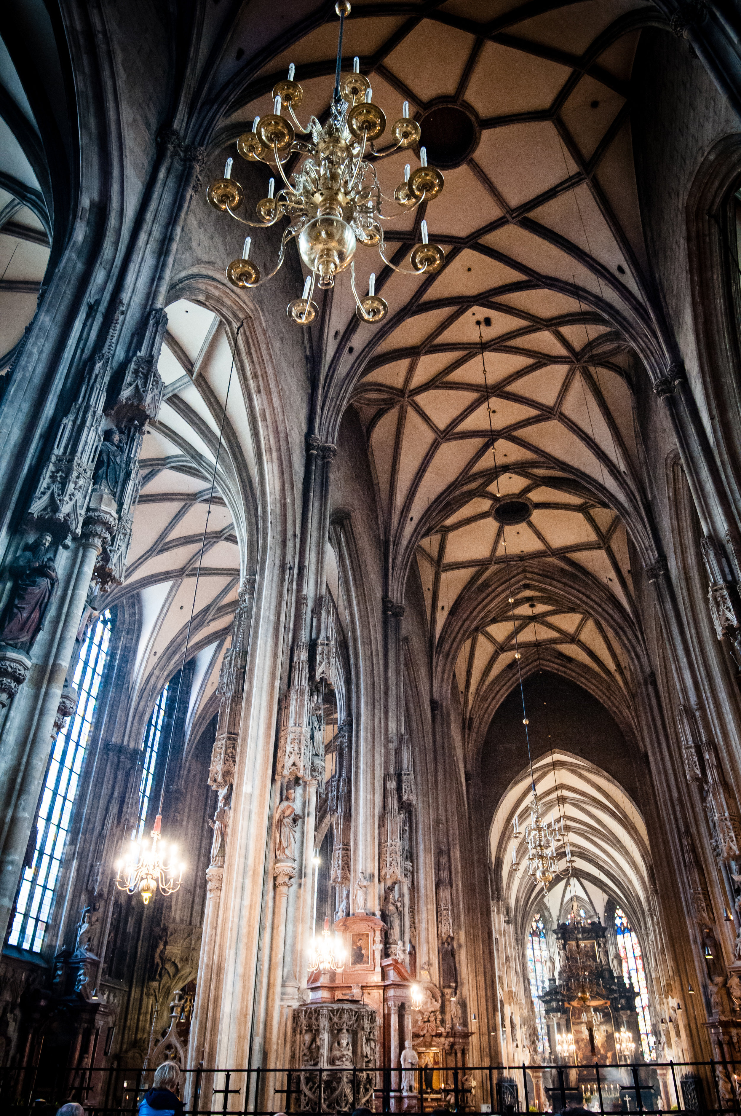 Ceiling Vault, St. Stephen's Cathedral, Vienna