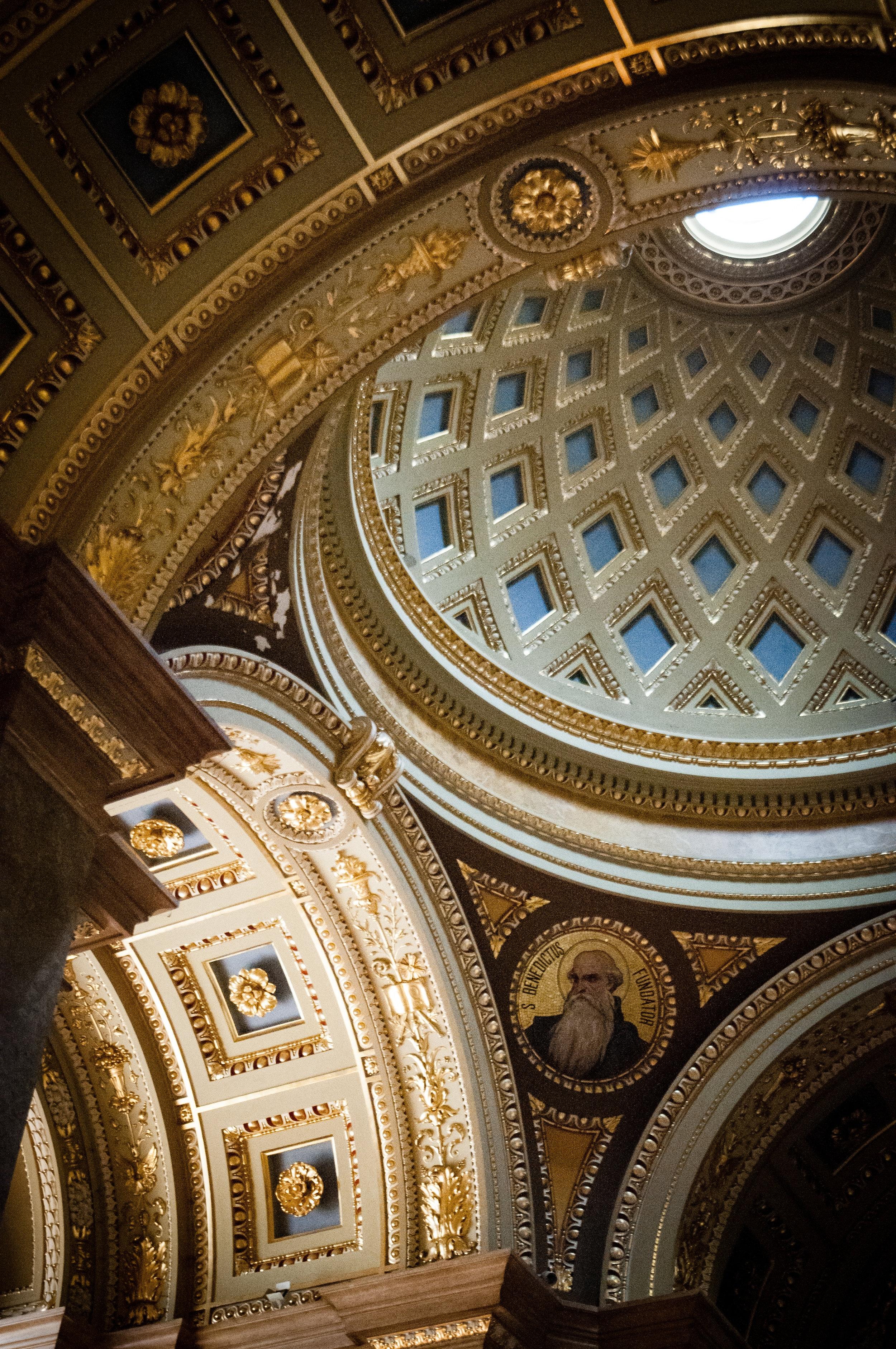 Interior Details, St. Stephen's Basilica, Budapest