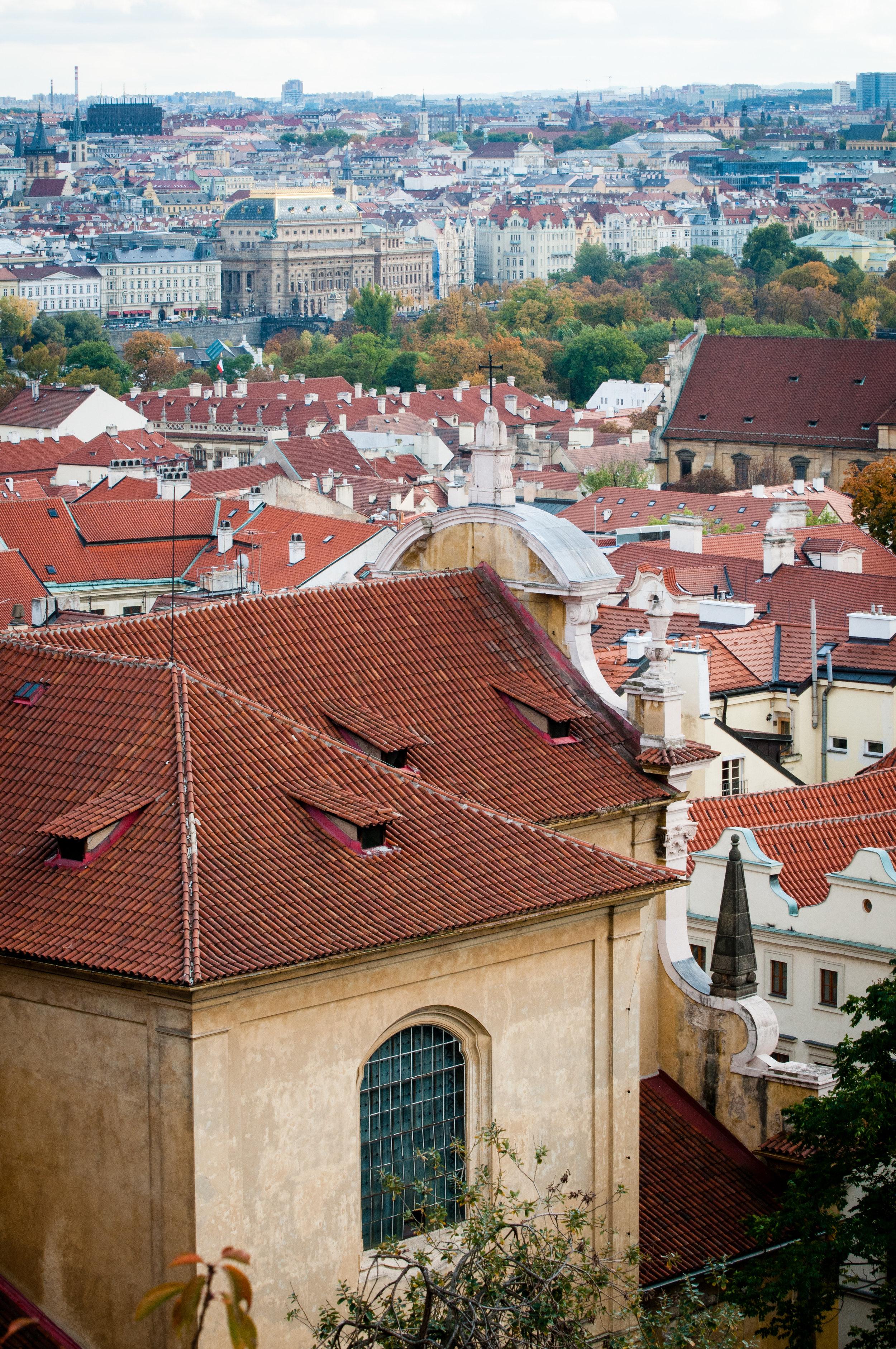 City Skyline, Prague