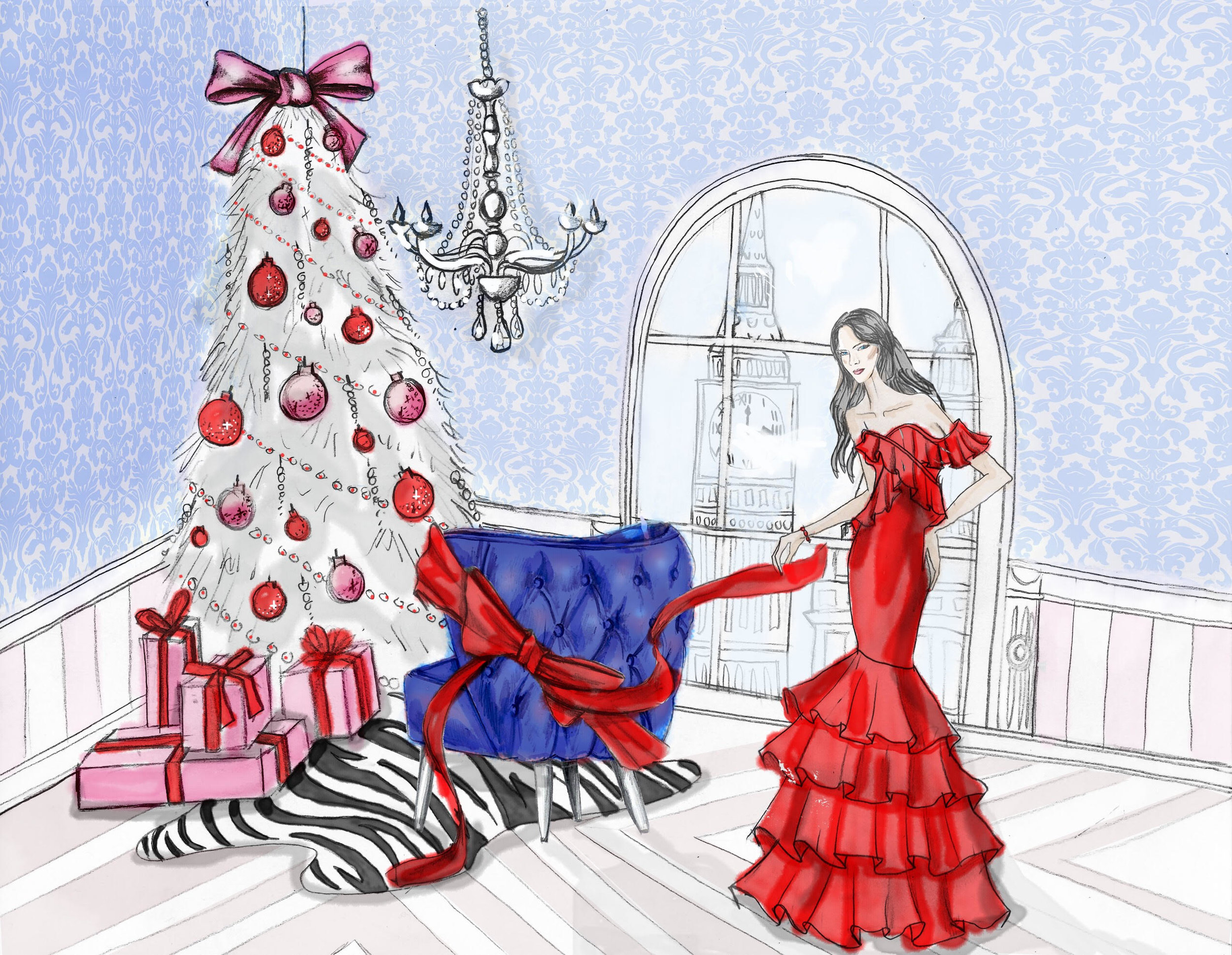 Lynda Sparshatt Christmas Card