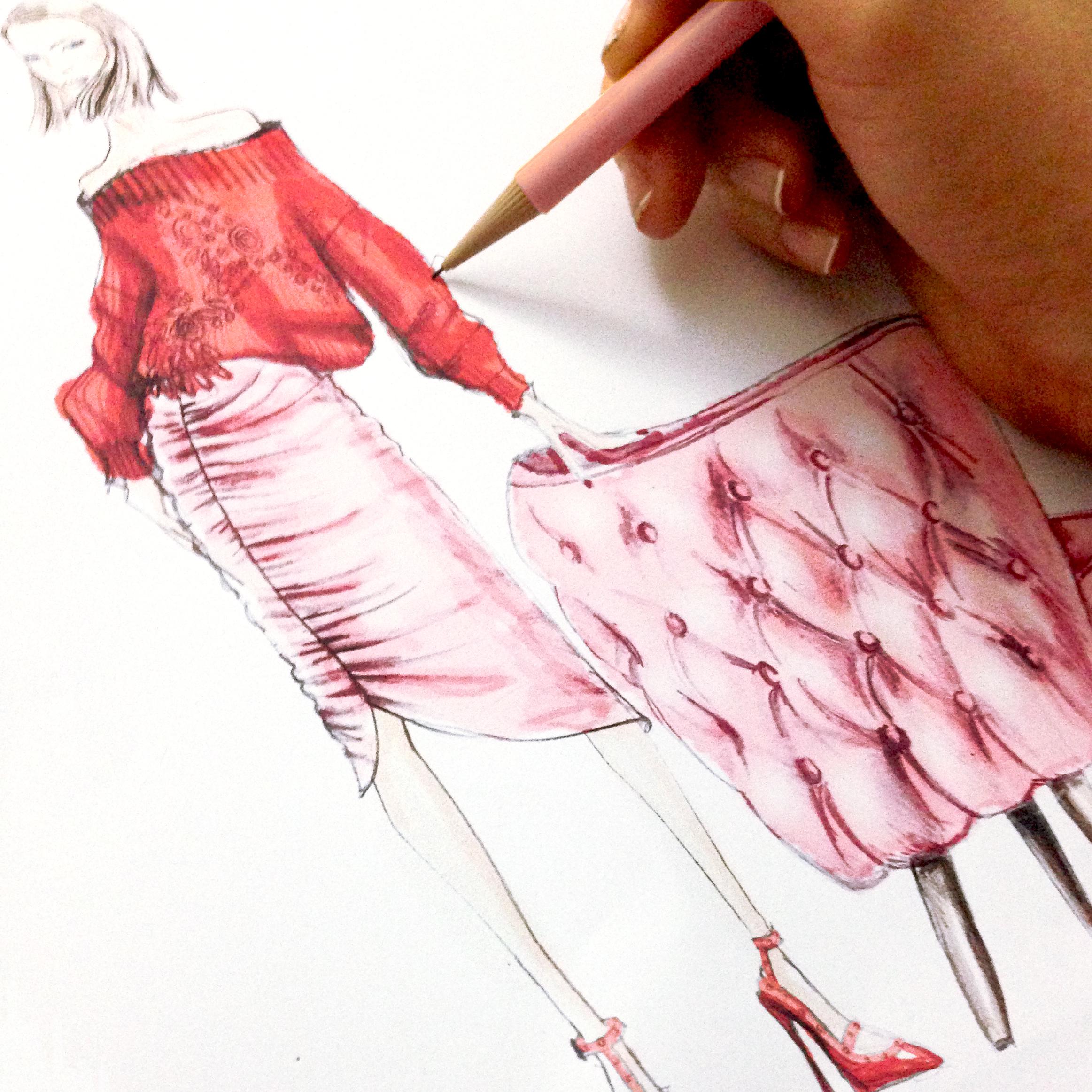 Behind the scenes with Neeshe Illustrator